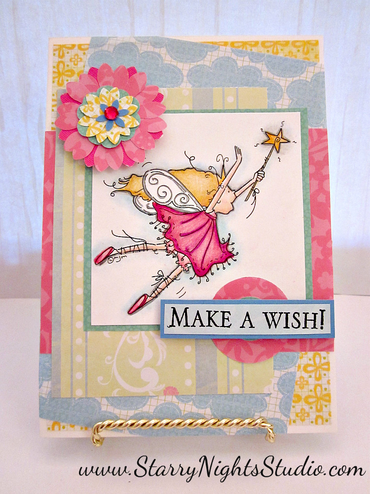 Best ideas about Make A Wish Birthday . Save or Pin Inside Starry Nights Studio Make a Wish Birthday Card Now.