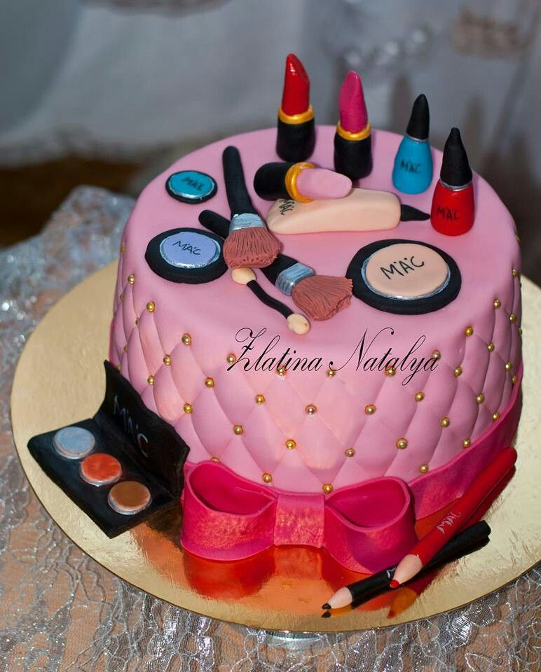 Best ideas about Makeup Birthday Cake . Save or Pin Makeup Birthday Cake Cake Now.