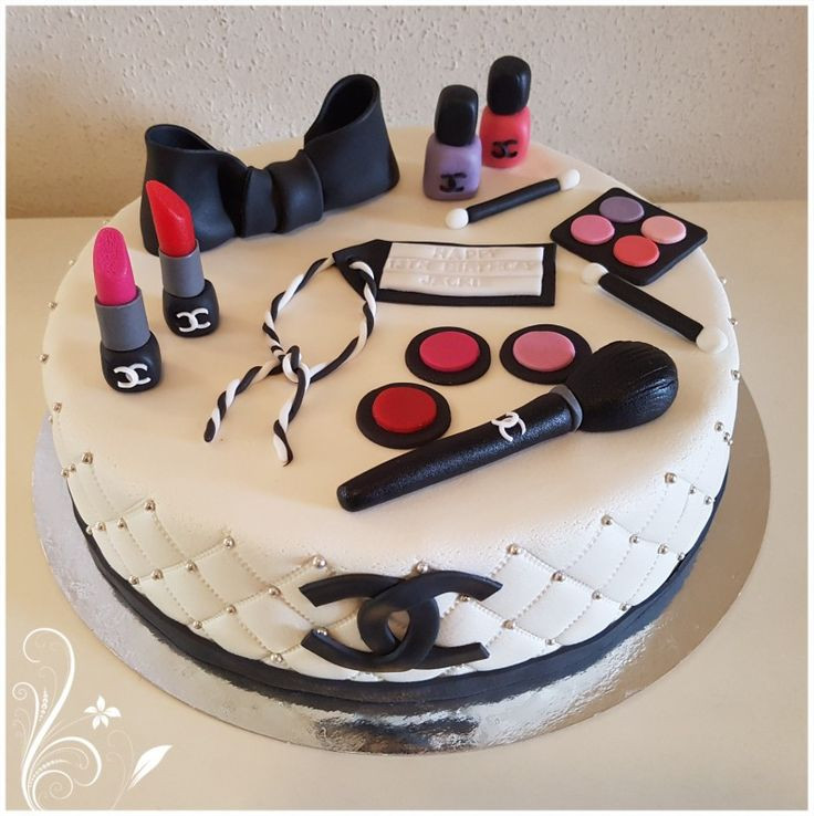 Best ideas about Makeup Birthday Cake . Save or Pin Best 20 Makeup Birthday Cakes ideas on Pinterest Now.