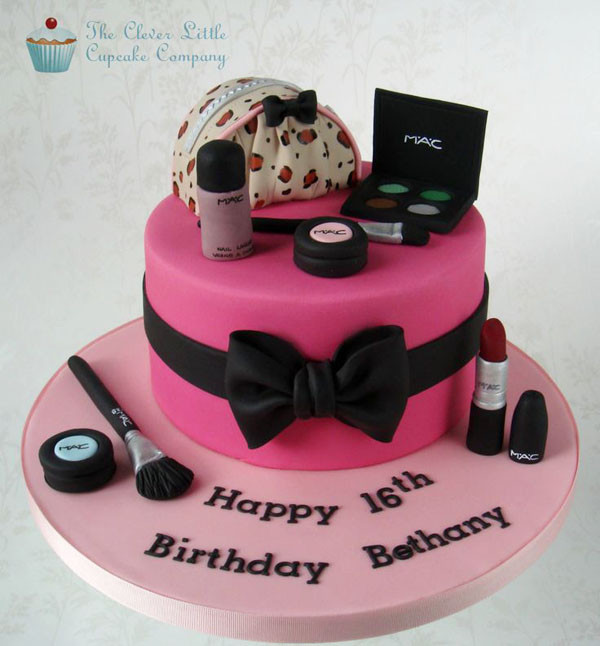 Best ideas about Makeup Birthday Cake . Save or Pin Gorgeous Creations 5 Beautiful Makeup Bag Cake Ideas Now.