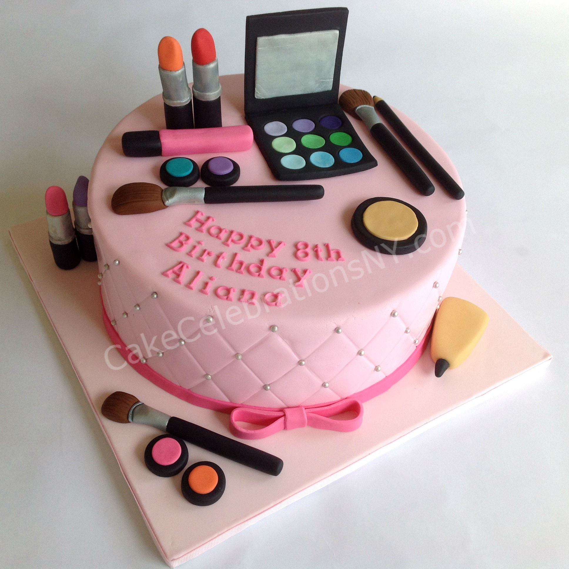 Best ideas about Makeup Birthday Cake . Save or Pin Makeup Birthday Cake Now.