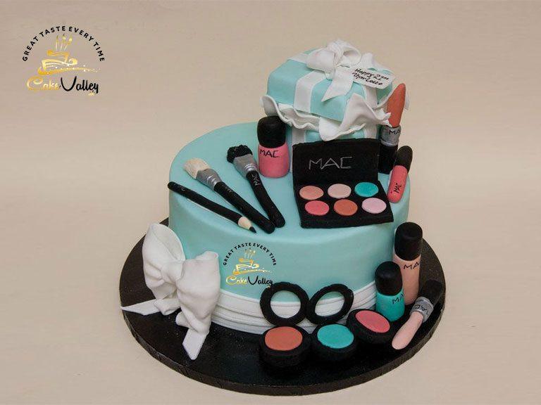 Best ideas about Makeup Birthday Cake . Save or Pin Makeup Birthday Cake With Name – Saubhaya Makeup Now.