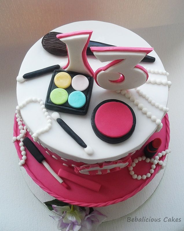 Best ideas about Makeup Birthday Cake . Save or Pin Best 25 Makeup birthday cakes ideas on Pinterest Now.