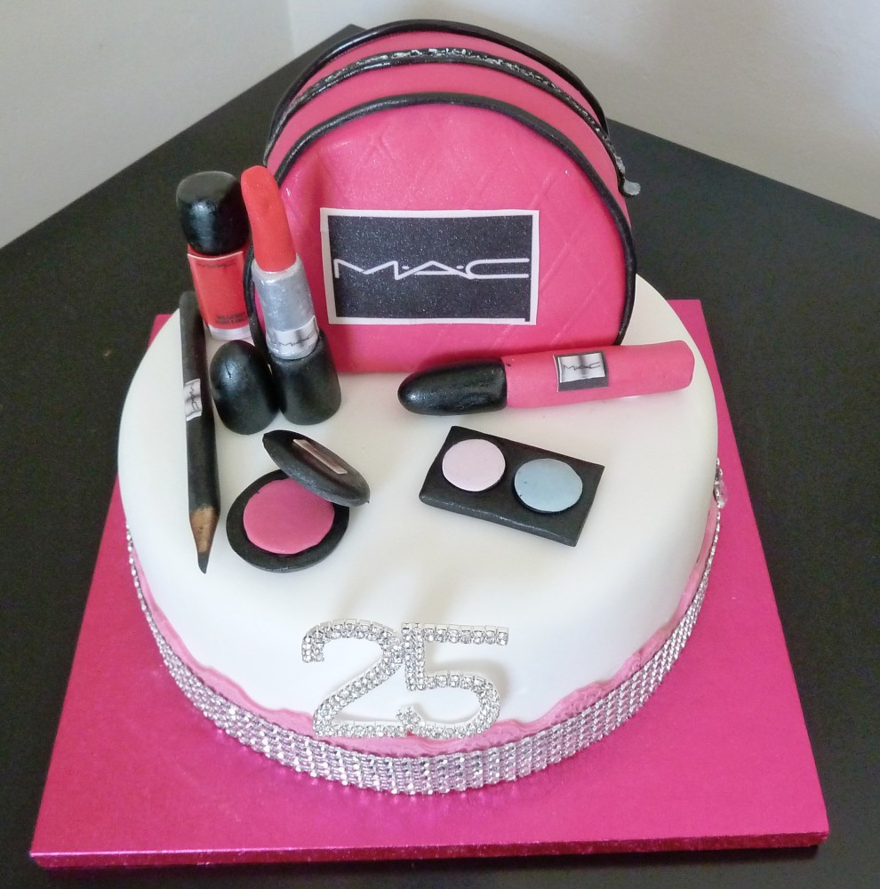Best ideas about Makeup Birthday Cake . Save or Pin Makeup Birthday Cakes on Pinterest Now.