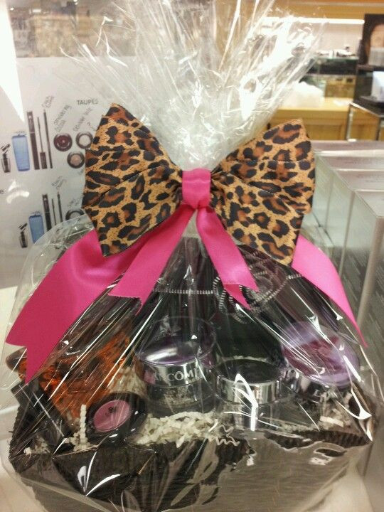 Best ideas about Makeup Gift Baskets Ideas . Save or Pin Lan e cosmetics t basket Now.