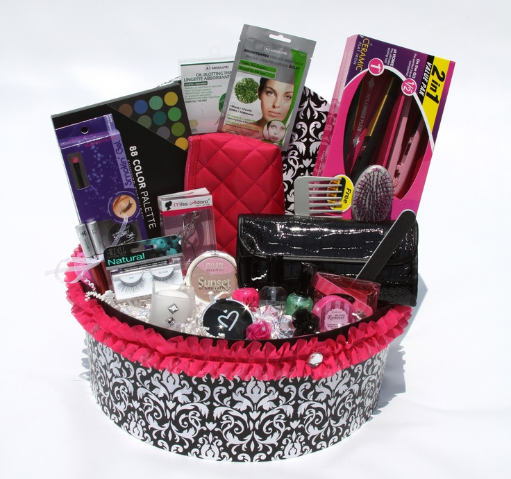 Best ideas about Makeup Gift Baskets Ideas . Save or Pin 11 best MAKEUP BASKET IDEAS images on Pinterest Now.