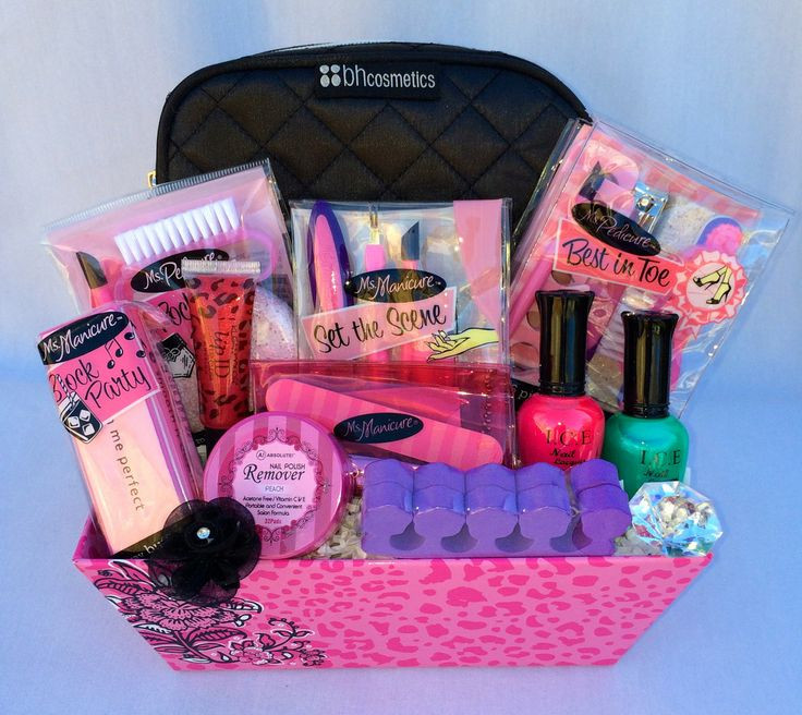 Best ideas about Makeup Gift Baskets Ideas . Save or Pin Pampered Teen Beauty Gift Basket Gift Ideas Now.