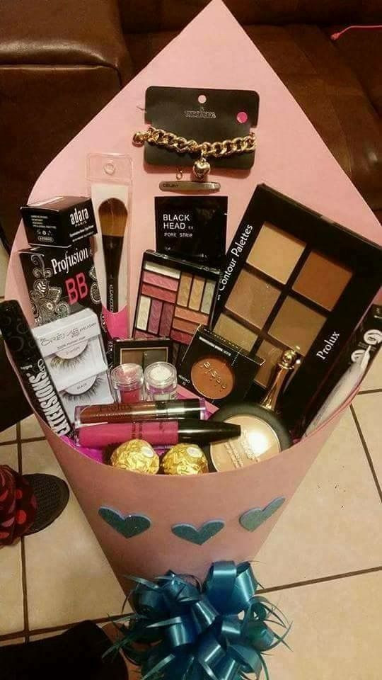 Best ideas about Makeup Gift Baskets Ideas . Save or Pin Follow for more lyG0ddess and ashleyforever Now.