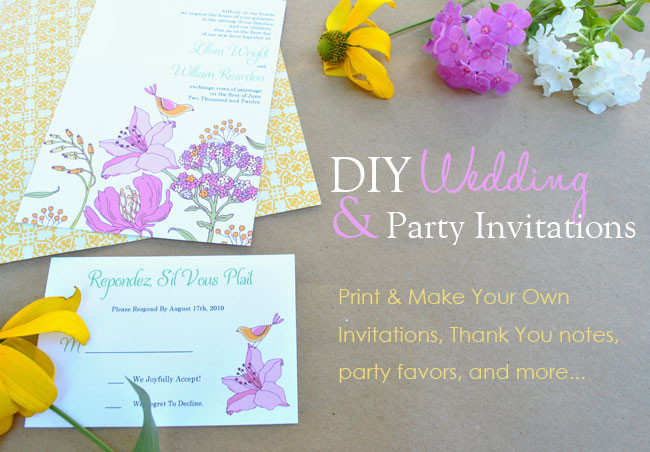 Best ideas about Making Your Own Birthday Invitations Free . Save or Pin Make Your Own Printable Invitations Template Now.