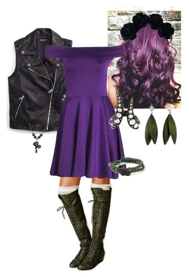 """Best ideas about Mal Descendants Costume DIY . Save or Pin """"Mal Disney s Descendants """" by for me notz liked on Now."""