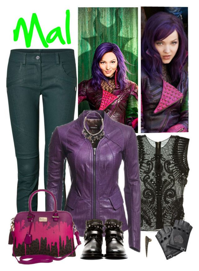 """Best ideas about Mal Descendants Costume DIY . Save or Pin """"Mal daughter of Maleficent """" by supercalifragilistica Now."""