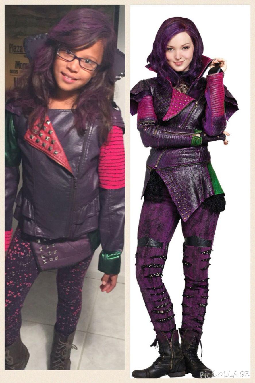 Best ideas about Mal Descendants Costume DIY . Save or Pin DIY Mal Costume Descendants Disney Mal Leather Jacket Now.