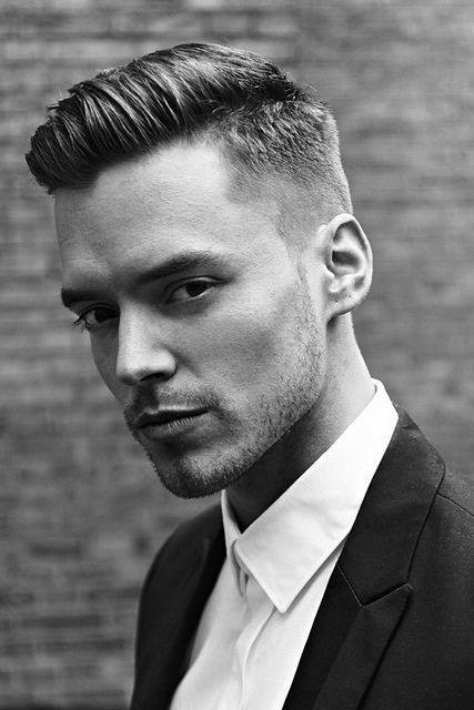 Best ideas about Male Haircuts For Thick Hair . Save or Pin 50 Men s Short Haircuts For Thick Hair Masculine Hairstyles Now.