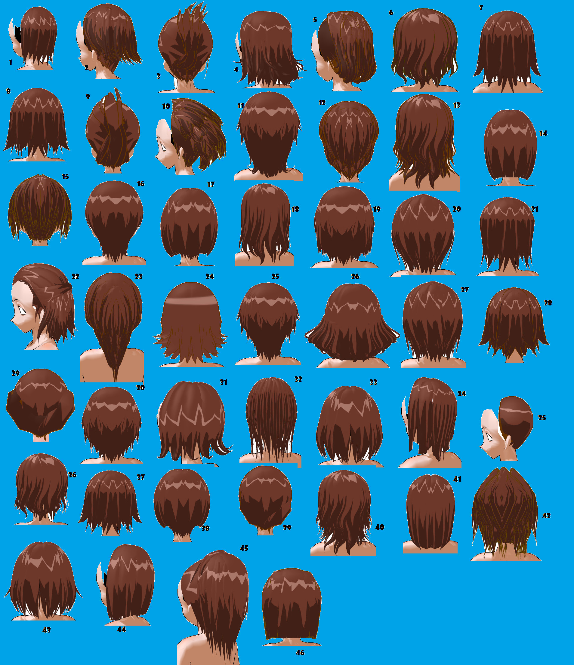 Best ideas about Male To Female Hairstyles . Save or Pin Short Hairstyles Male or Female by MMDxDespair on DeviantArt Now.