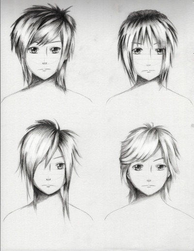 Best ideas about Male To Female Hairstyles . Save or Pin Male Hairstyles practice 1 by ShenGoDo on DeviantArt Now.
