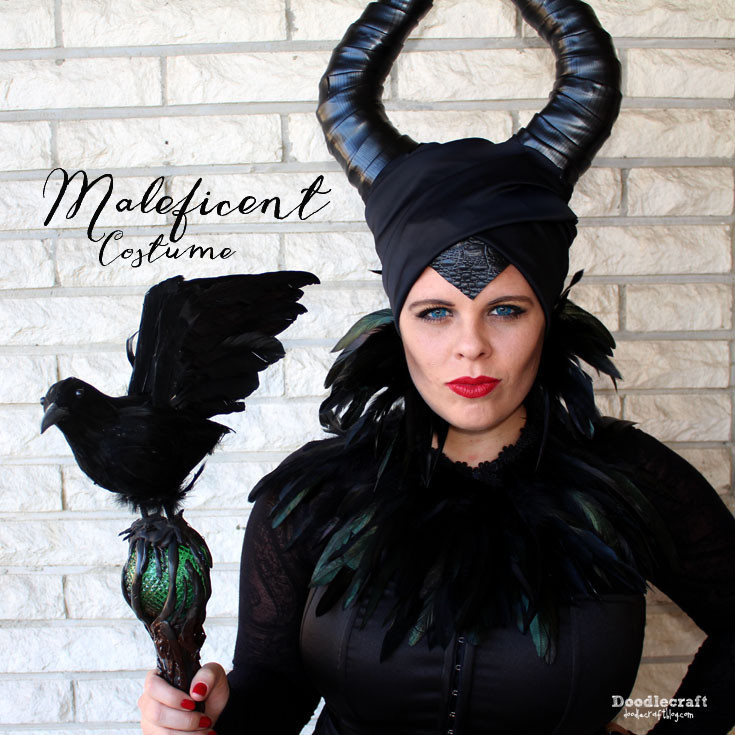 Best ideas about Maleficent DIY Costumes . Save or Pin Doodlecraft Maleficent Costume Now.