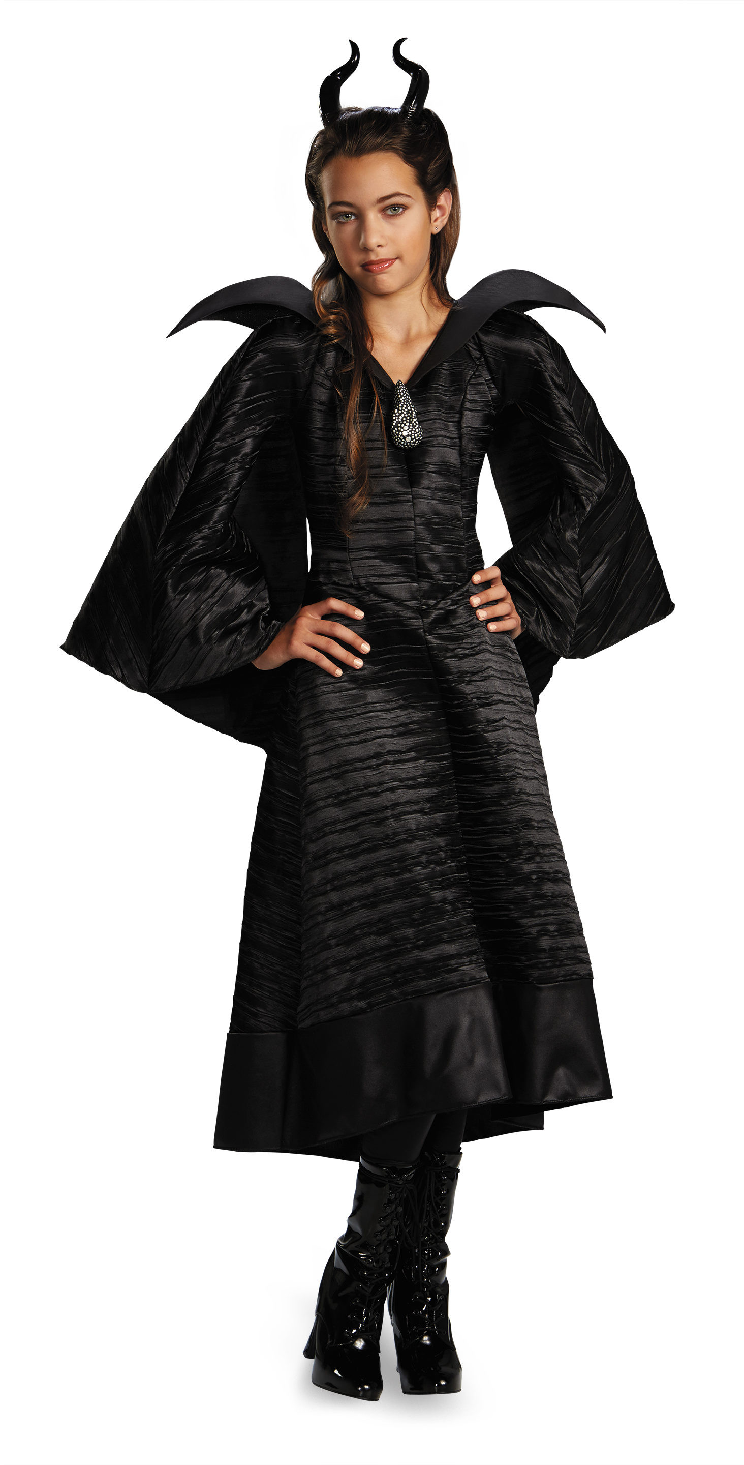 Best ideas about Maleficent DIY Costumes . Save or Pin Disney Maleficent Black Gown Kids Costume Mr Costumes Now.