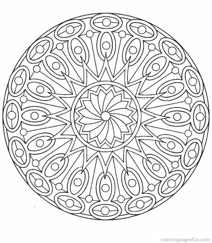 Best ideas about Mandala Adult Coloring Books . Save or Pin Free Mandala Coloring Pages For Adults AZ Coloring Pages Now.