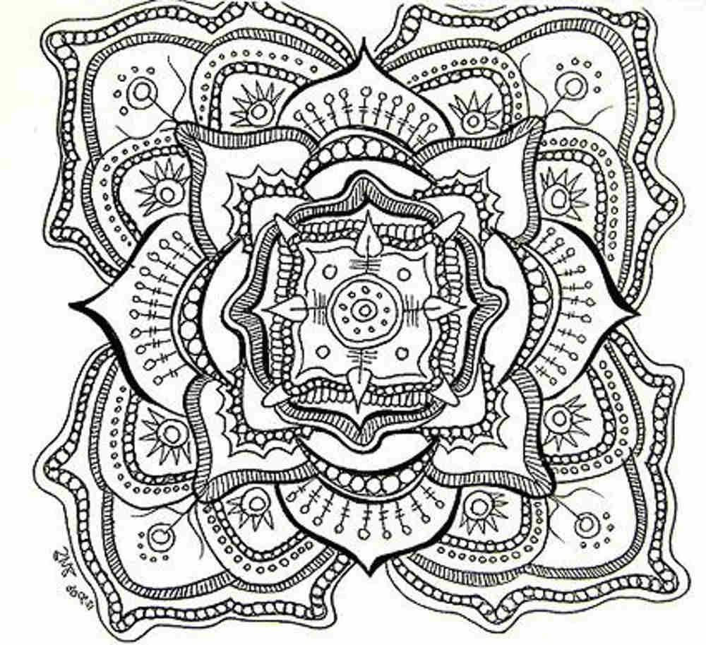 Best ideas about Mandala Adult Coloring Books . Save or Pin Free Mandala Coloring Pages For Adults Coloring Home Now.