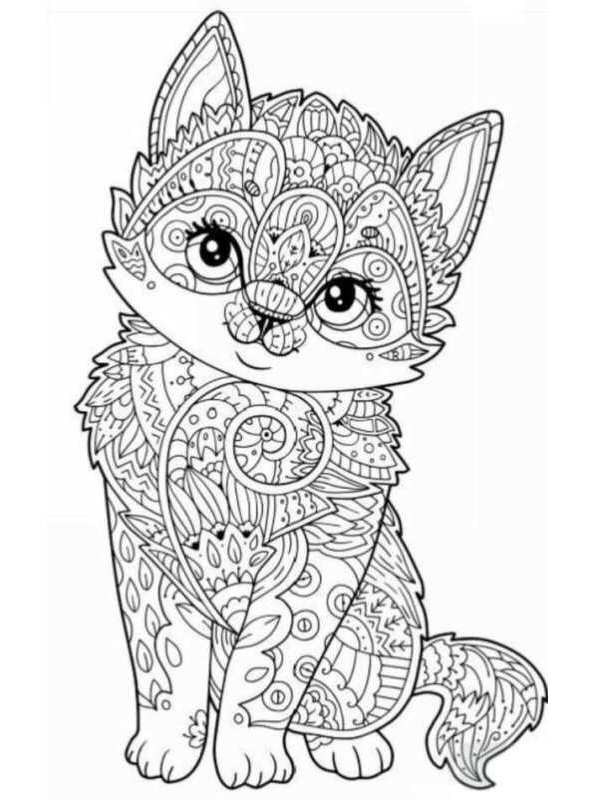 Best ideas about Mandala Animal Coloring Sheets For Girls . Save or Pin Kids n fun Now.