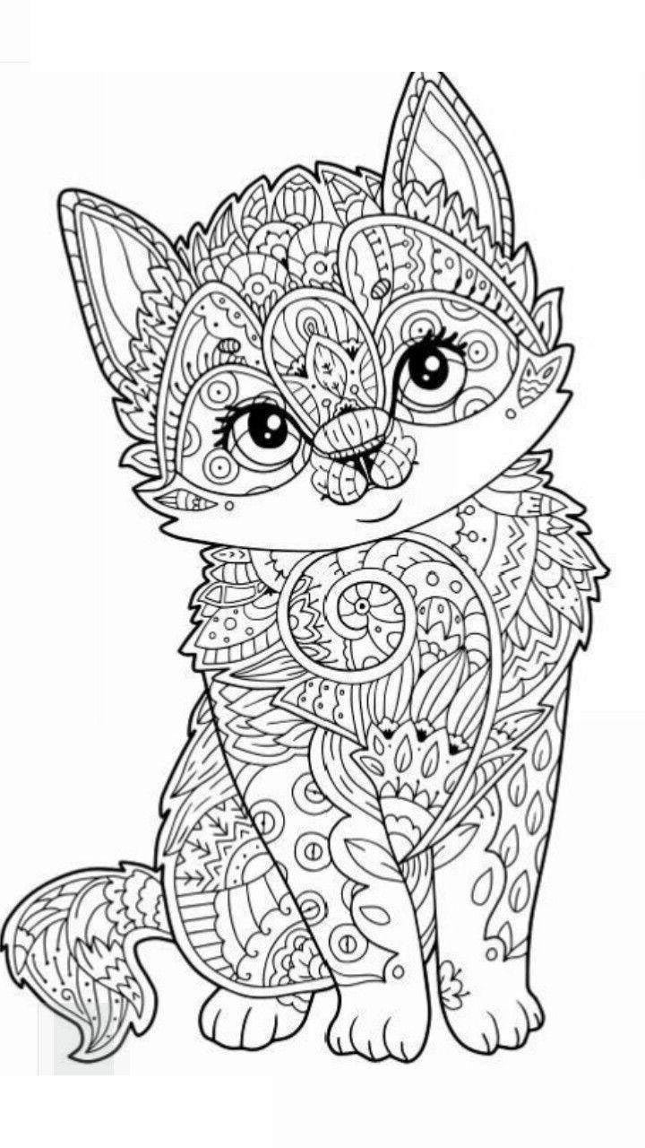 Best ideas about Mandala Animal Coloring Sheets For Girls . Save or Pin Animal Mandala Coloring Pages Awesome Lineart Free Now.