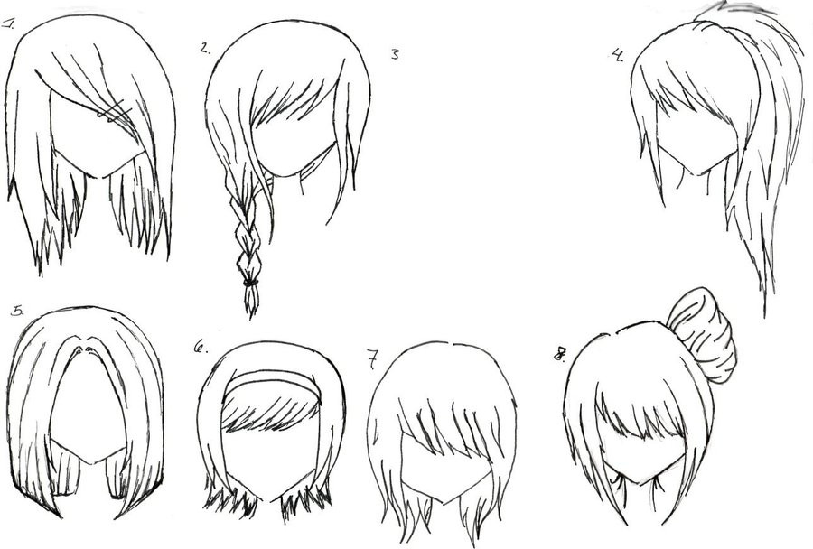 Best ideas about Manga Hairstyles Female . Save or Pin Everyday blogs Day four Drawing tuts and tips Now.