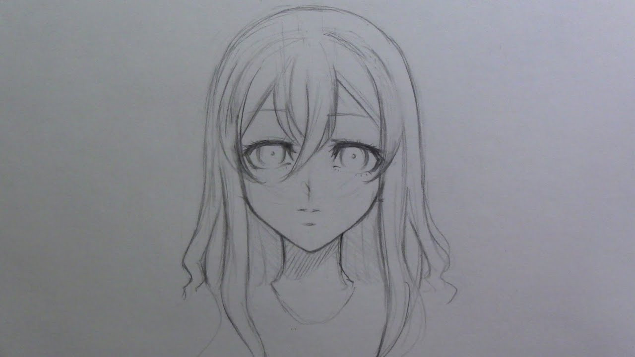 Best ideas about Manga Hairstyles Female . Save or Pin Mini tutorial How to draw female manga anime hair Now.