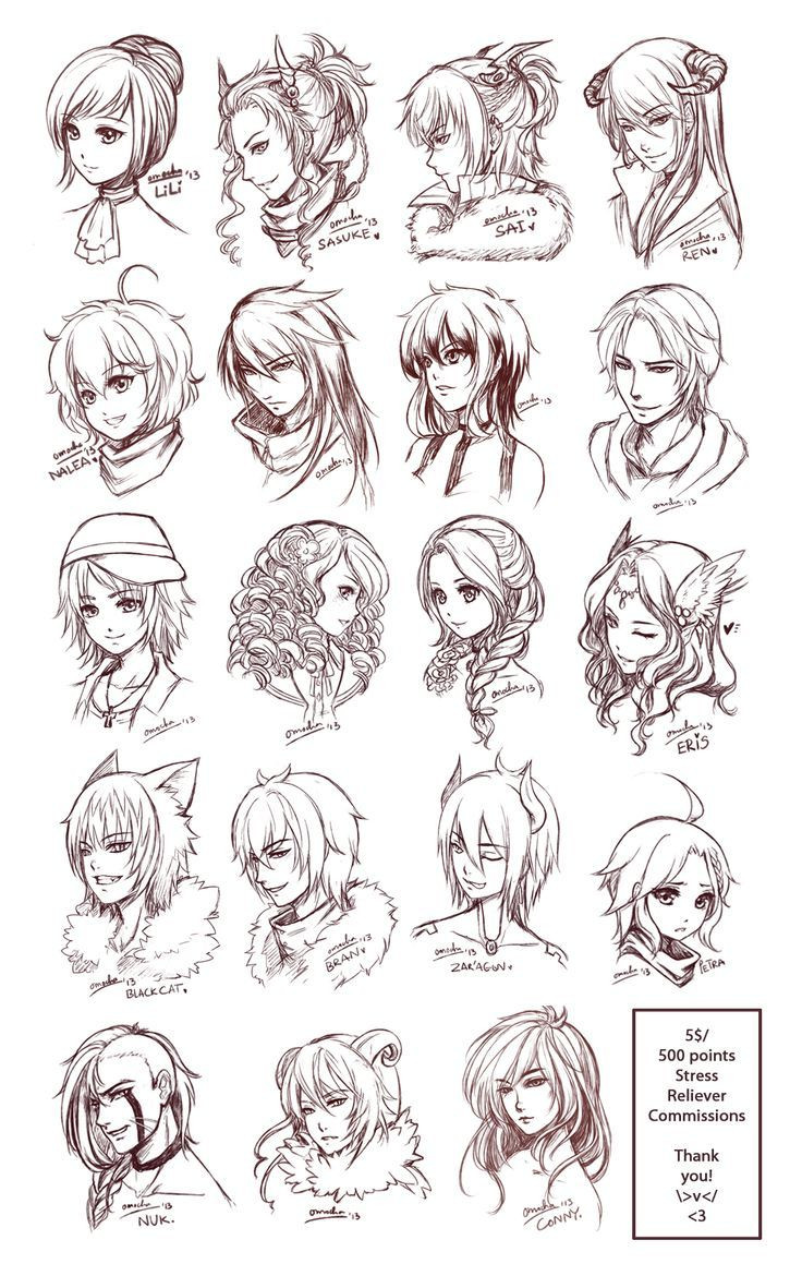 Best ideas about Manga Hairstyles Female . Save or Pin Pin by wishwork art on Drawing Hair Now.