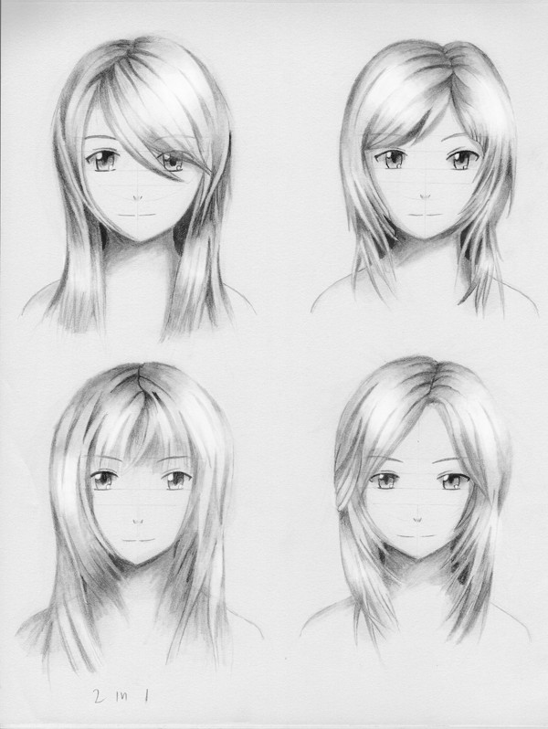 Best ideas about Manga Hairstyles Female . Save or Pin Female hairstyle practice 3 by ShenGoDo on DeviantArt Now.