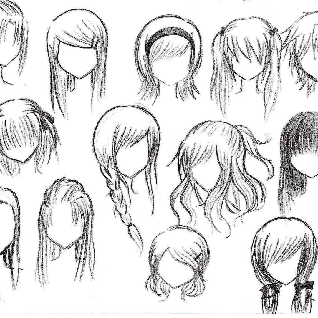 Best ideas about Manga Hairstyles Female . Save or Pin Top 25 anime girl hairstyles collection Sensod Now.