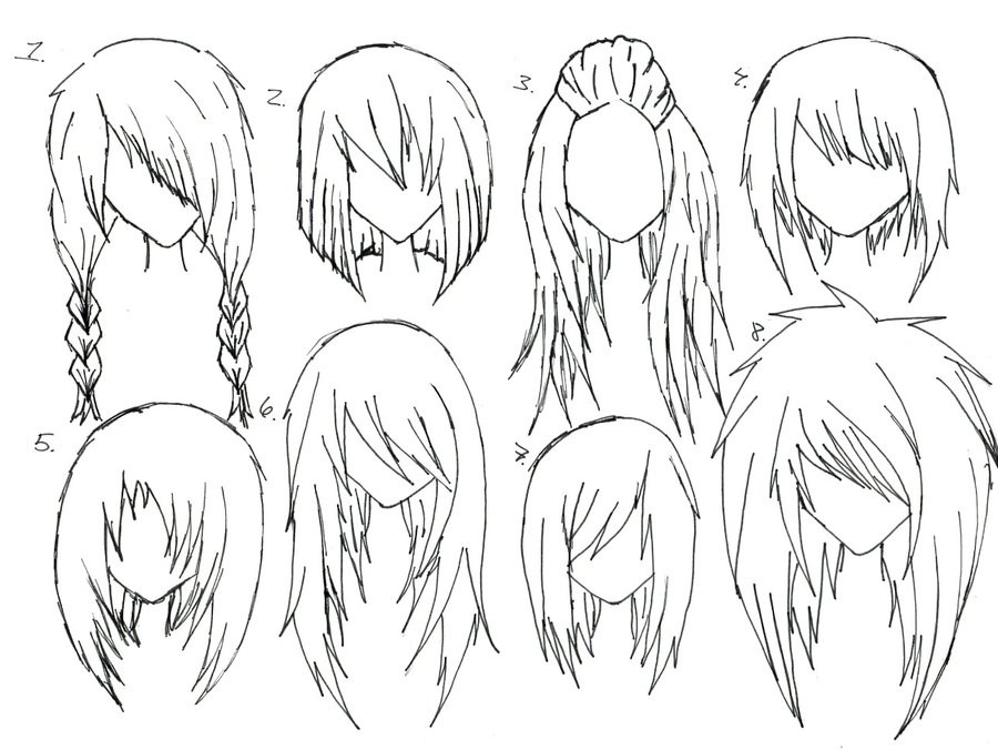 Best ideas about Manga Hairstyles Female . Save or Pin Reference List by AyameTakame on DeviantArt Now.
