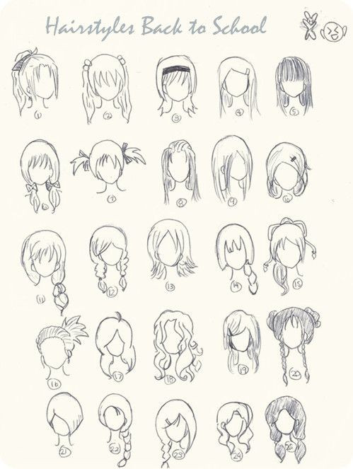 Best ideas about Manga Hairstyles Female . Save or Pin Top 9 Ombre Hairstyles for Back to School Now.