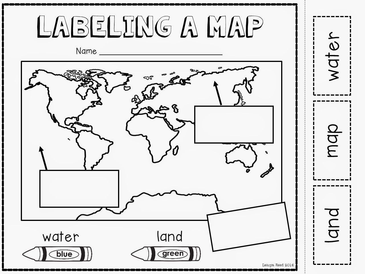 Best ideas about Map Of Wisconsin Preschool Coloring Sheets . Save or Pin Maps Globes and Our World plus a FREEBIE Now.