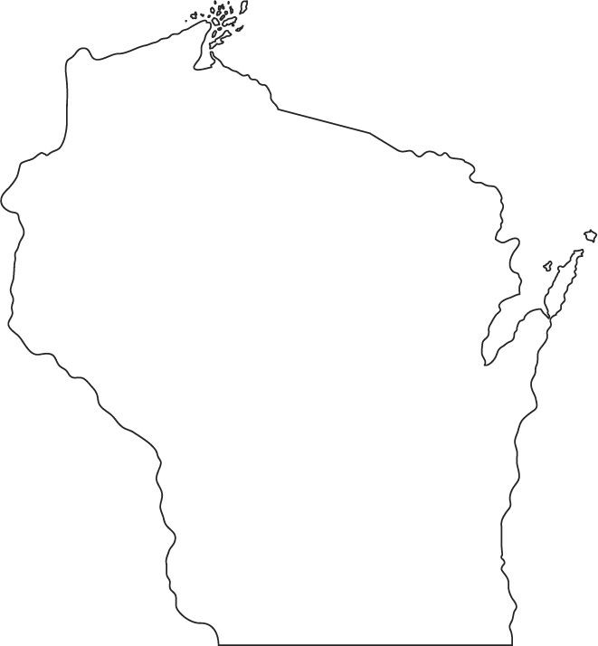 Best ideas about Map Of Wisconsin Preschool Coloring Sheets . Save or Pin Geography Blog Wisconsin Outline Maps Now.