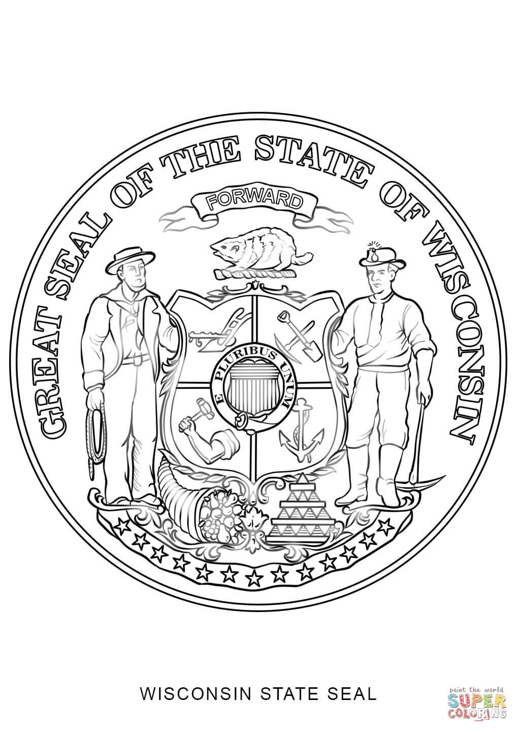 Best ideas about Map Of Wisconsin Preschool Coloring Sheets . Save or Pin Wisconsin Map Coloring Page Coloring Pages Now.