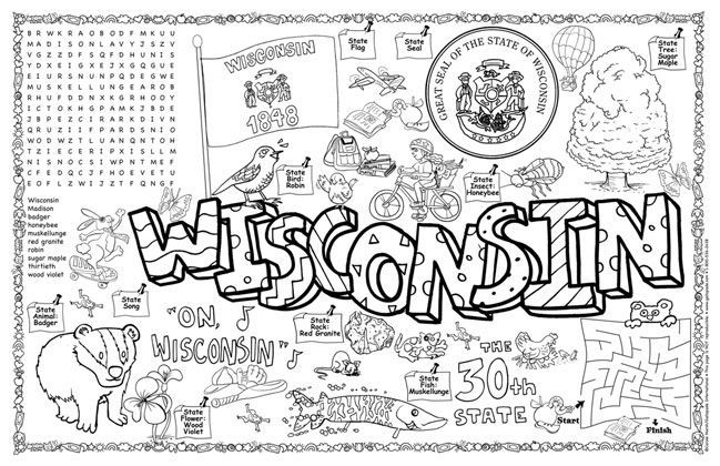 Best ideas about Map Of Wisconsin Preschool Coloring Sheets . Save or Pin The Best Ideas for towns Map Wisconsin Preschool Now.