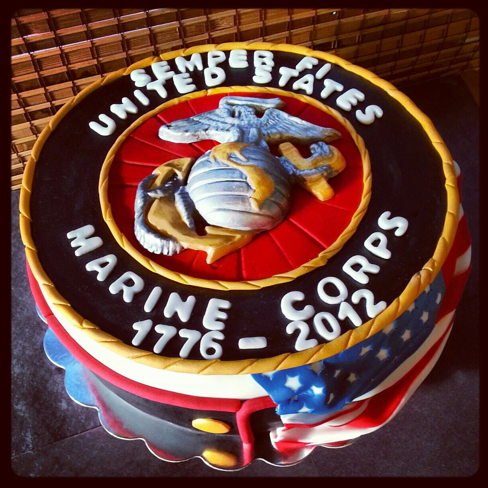 Best ideas about Marine Corp Birthday Cake . Save or Pin Today In Marine Corps History 10 November 1921 Now.