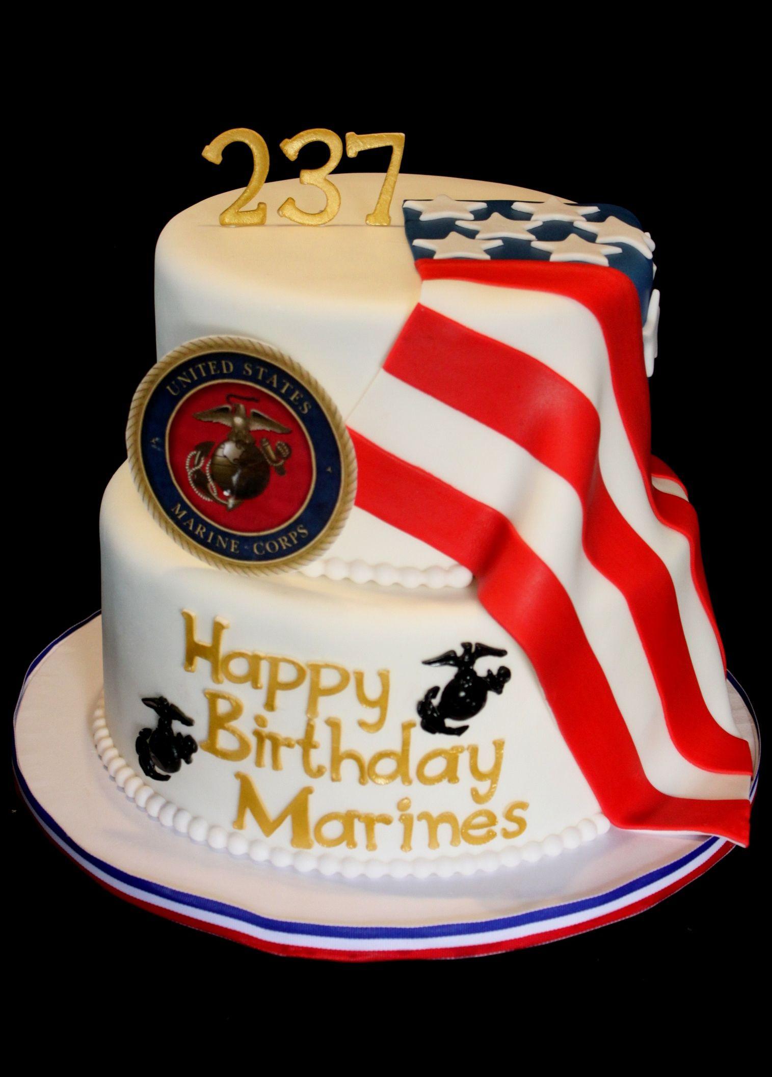 Best ideas about Marine Corp Birthday Cake . Save or Pin Marine Corps Birthday Cake Now.