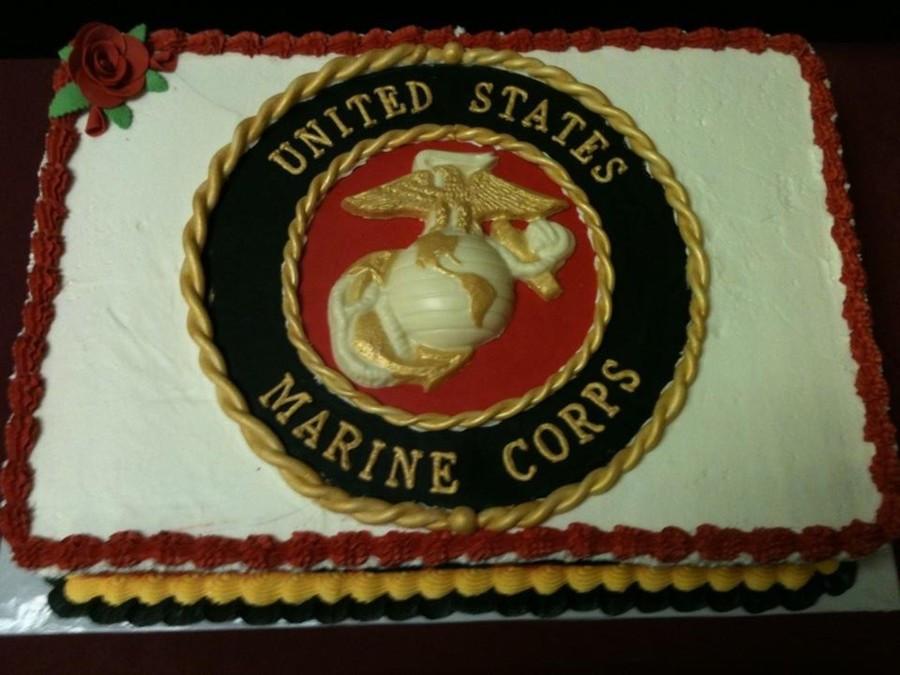 Best ideas about Marine Corp Birthday Cake . Save or Pin Marine Corps 236Th Birthday Cake CakeCentral Now.