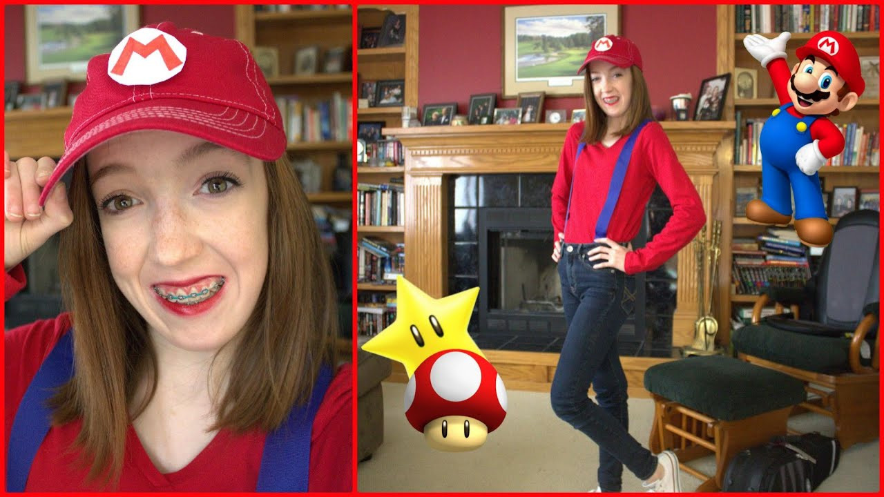Best ideas about Mario DIY Costume . Save or Pin DIY Mario Halloween Costume Cheap and Easy Now.