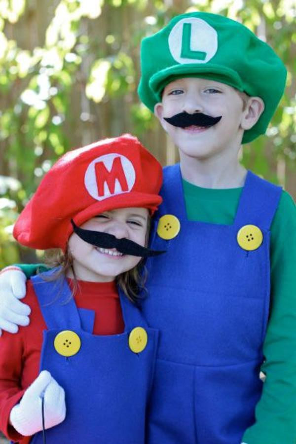 Best ideas about Mario DIY Costume . Save or Pin Top 10 Halloween costumes for kids Now.