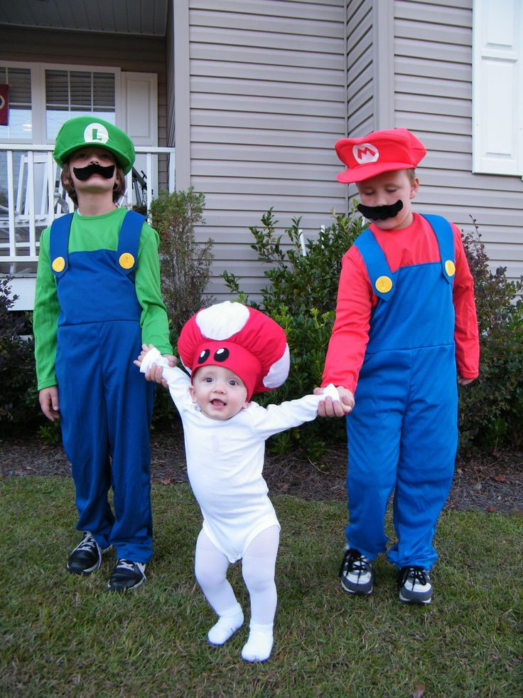 Best ideas about Mario DIY Costume . Save or Pin Mario Brothers Costumes Oh man My boys would love this Now.