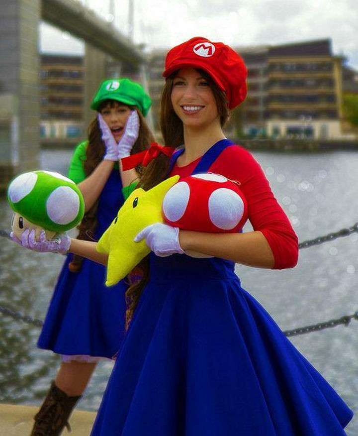 Best ideas about Mario DIY Costume . Save or Pin 23 Super Mario and Luigi Costumes For Halloween Updated Now.