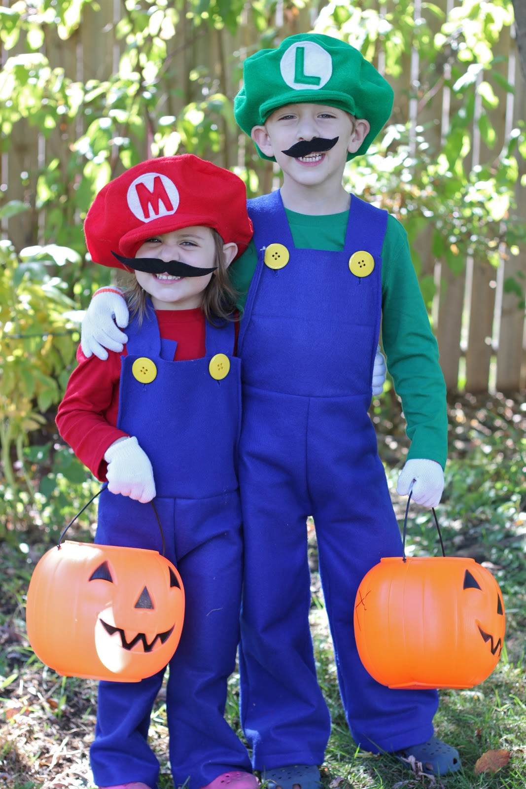 Best ideas about Mario DIY Costume . Save or Pin How to Make Mario and Luigi Costumes Tutorial Smashed Now.