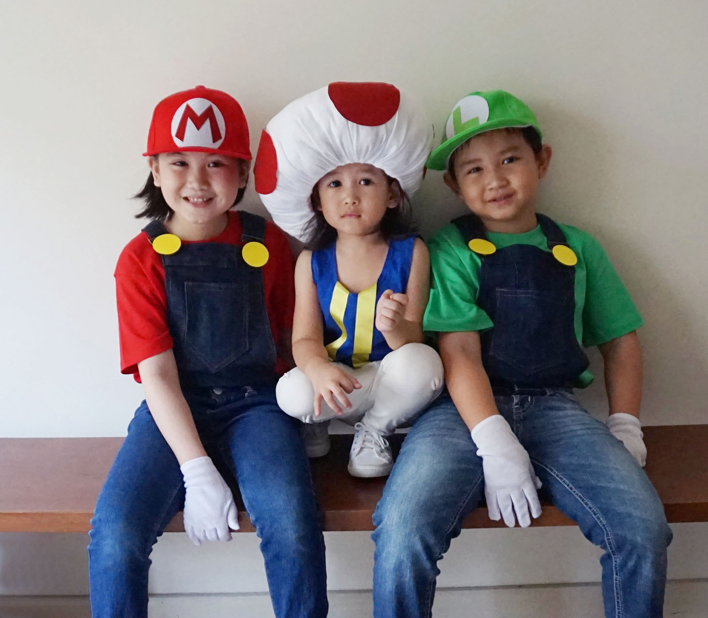 Best ideas about Mario DIY Costume . Save or Pin MrsMommyHolic DIY Mario Bros and Toad Costume Now.