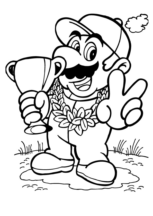 Best ideas about Mario Kart Coloring Pages For Kids Printable . Save or Pin Mario Kart Coloring Pages Best Coloring Pages For Kids Now.
