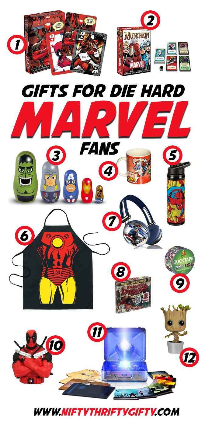 Best ideas about Marvel Gift Ideas . Save or Pin The 25 best Marvel ts ideas on Pinterest Now.
