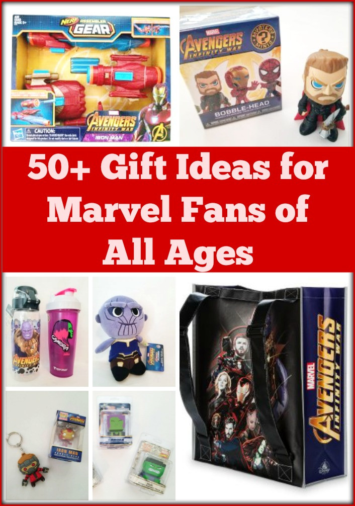 Best ideas about Marvel Gift Ideas . Save or Pin 50 Gift Ideas for Marvel Fans of All Ages Now.