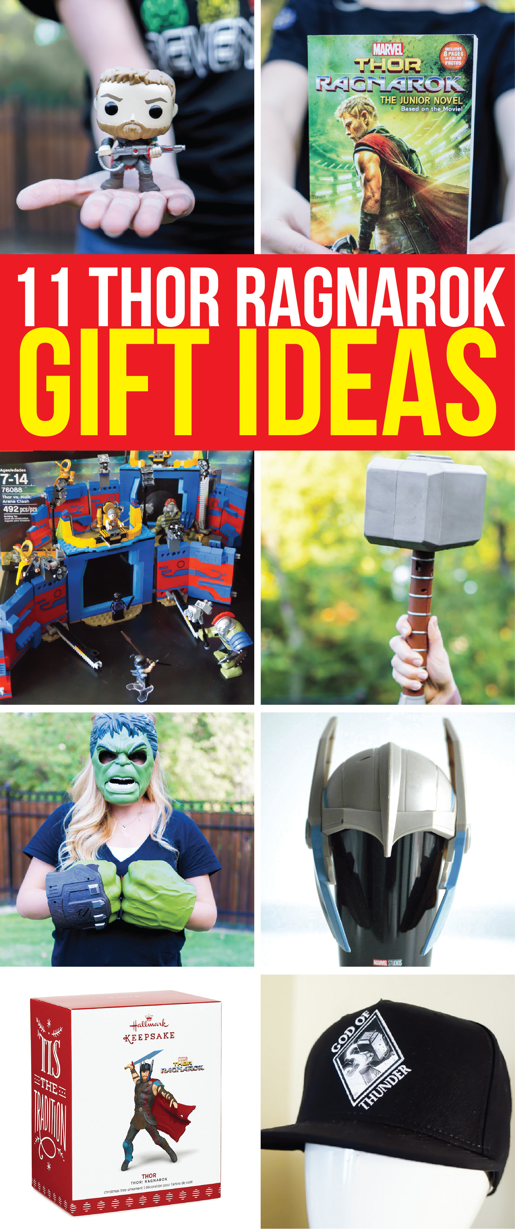 Best ideas about Marvel Gift Ideas . Save or Pin 11 Ragnarokin Gift Ideas for Thor Ragnarok and Marvel Now.