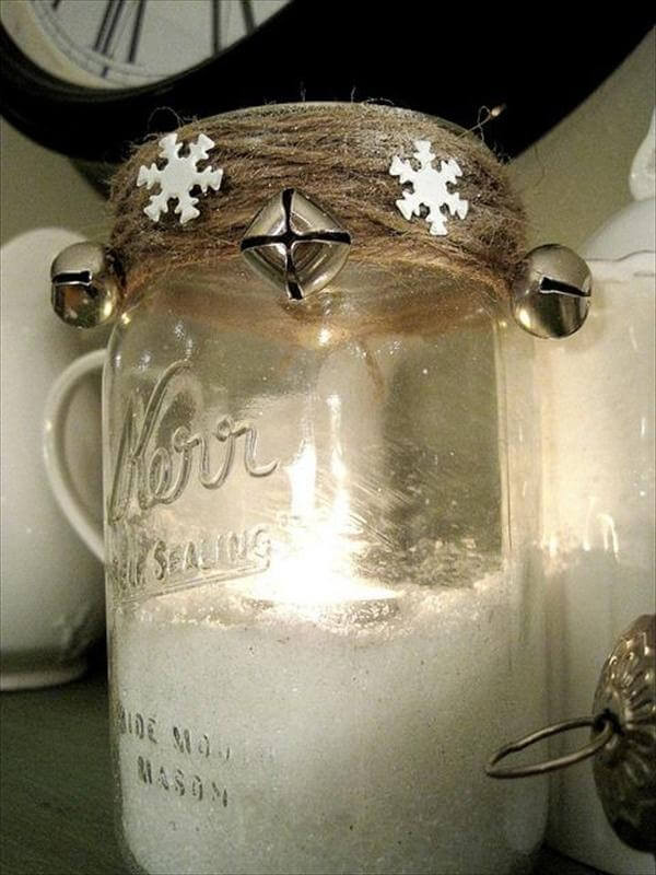 Best ideas about Mason Jar Craft Ideas . Save or Pin 20 Cool DIY Mason Jar Ideas Now.